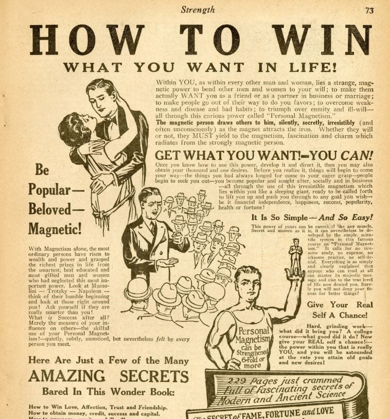 How to Win What You Want in Life! – Strength Magazine – December