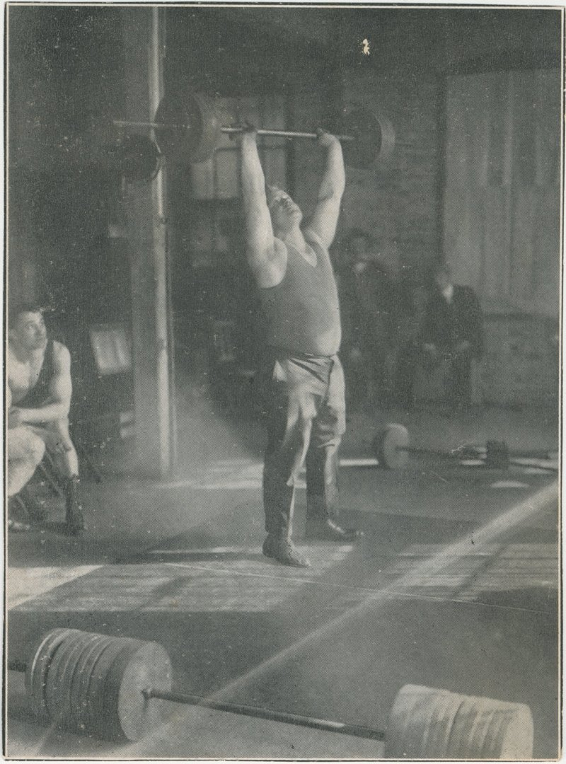 Photo of Joseph Nordquest in the Gym