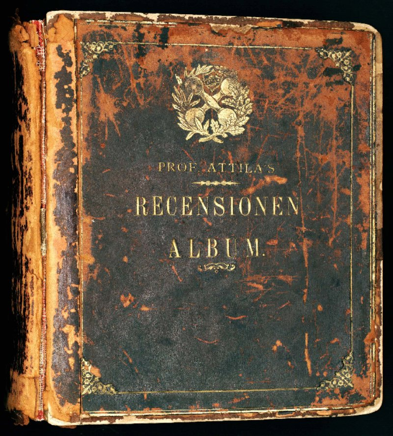 Professor Louis Attila scrapbook