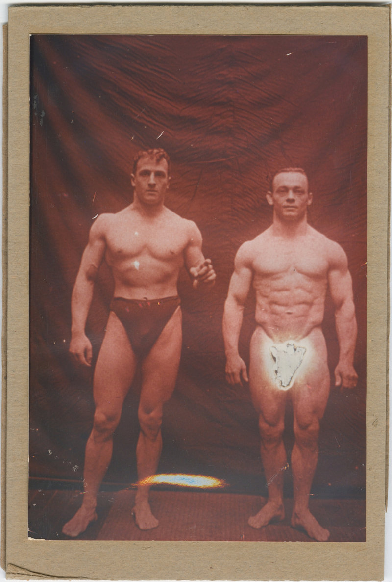 Photo of Otto Arco and his brother