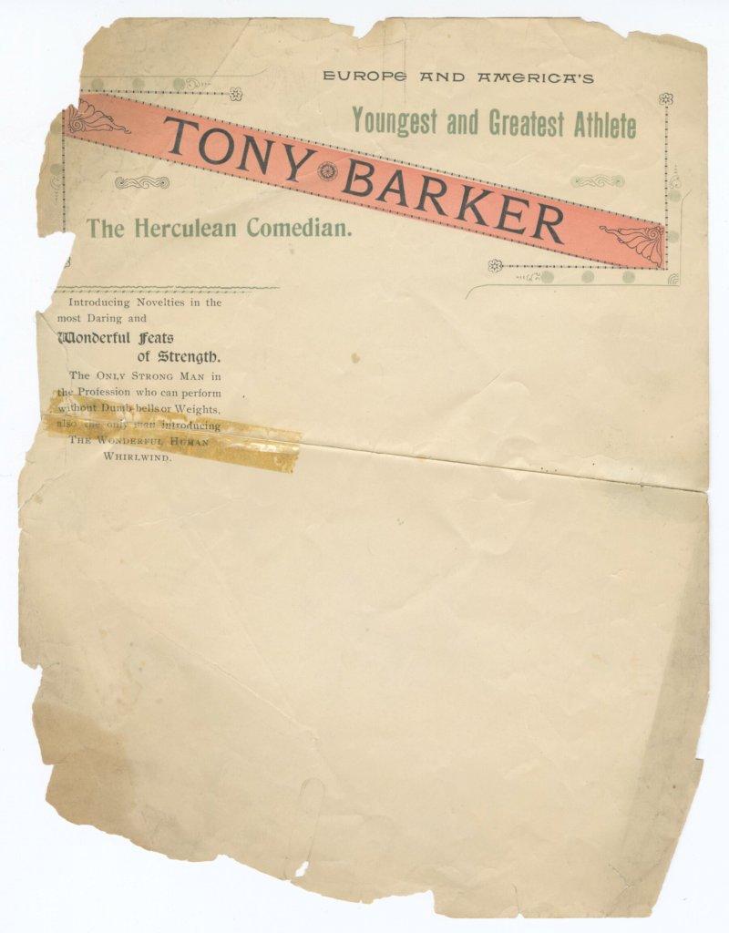 Anthony Barker stationery
