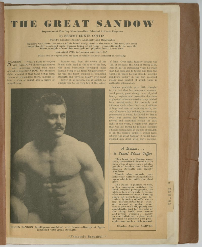 The Great Sandow, part 1