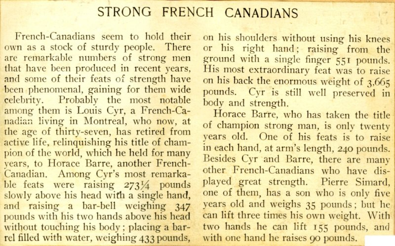 Page 7 detail - Strong French Canadians