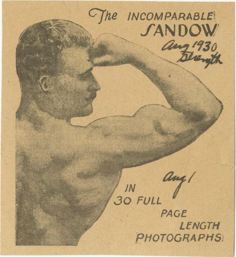 The Incomparable Sandow