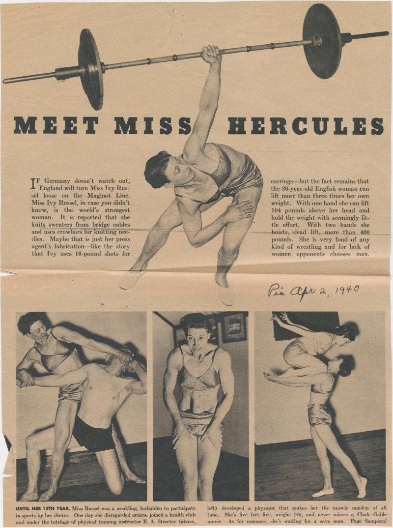 Meet Miss Hercules