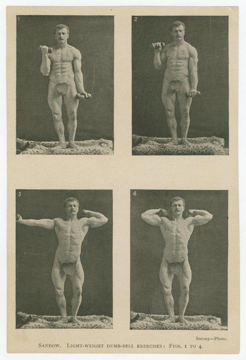 Sandow light-weight dumb-bell exercises