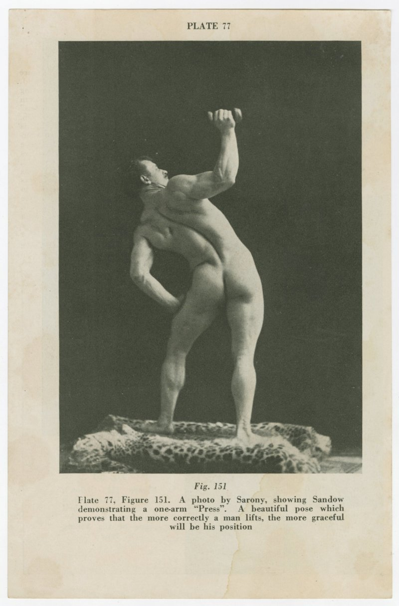 Eugen Sandow bent press