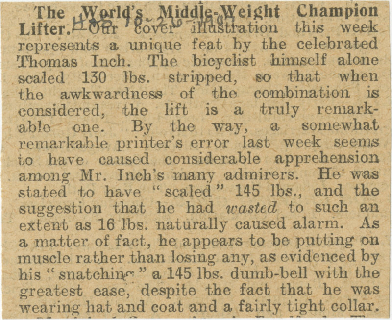 The World's Middle Weight Champion Lifter