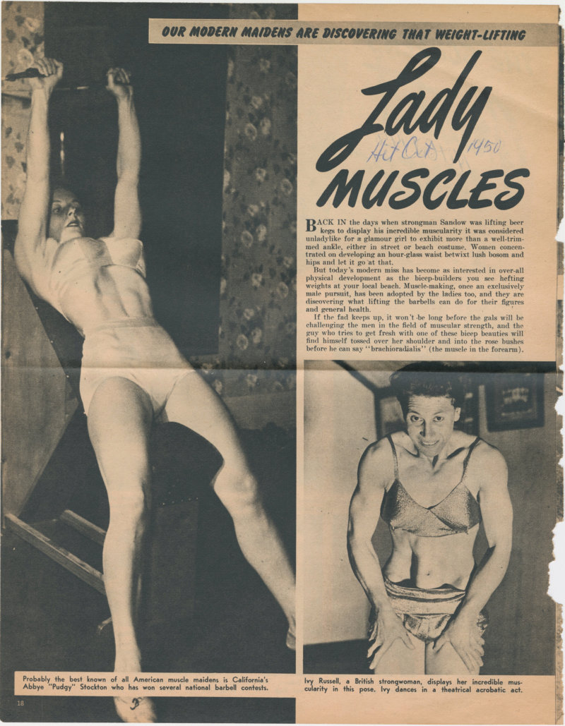 Lady Muscles