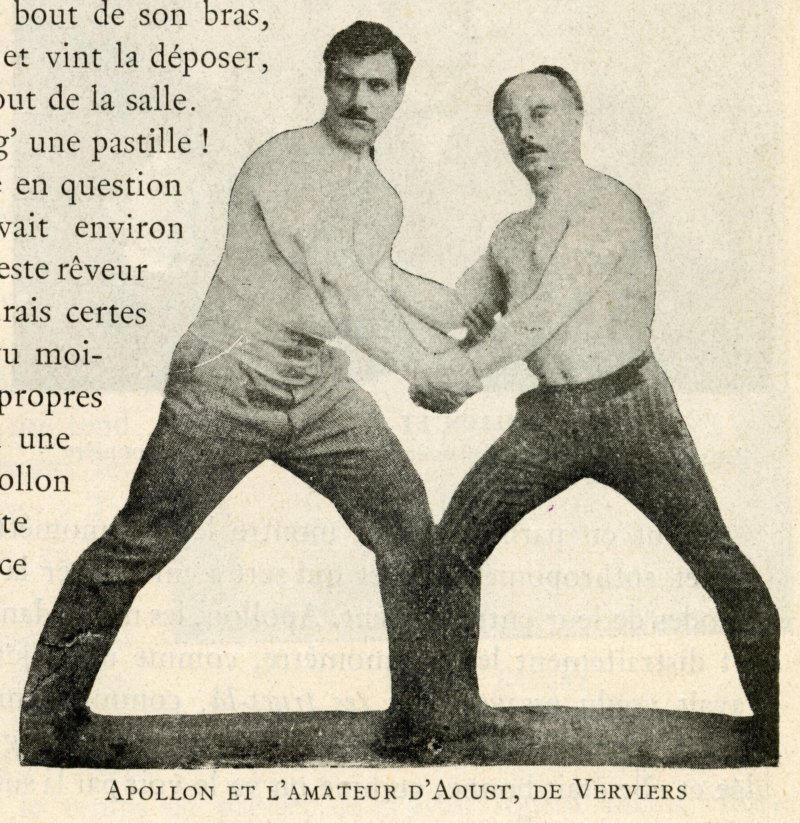 Apollon and the amateur D'Aoust, from Verviers
