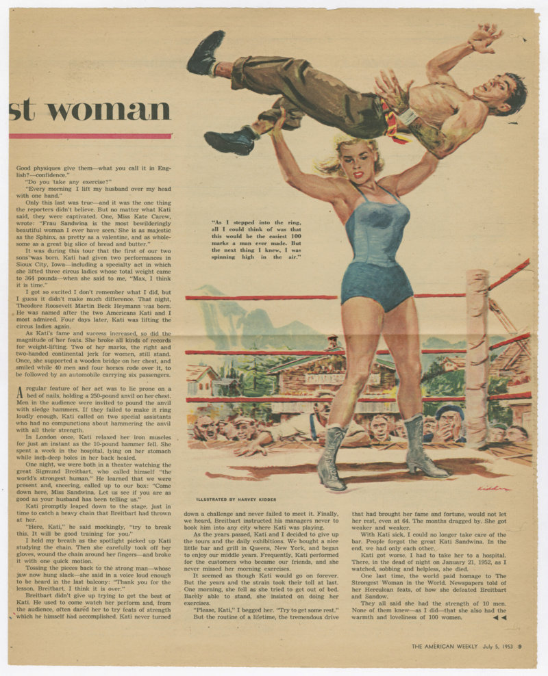 I Married the World's Strongest Woman, continued