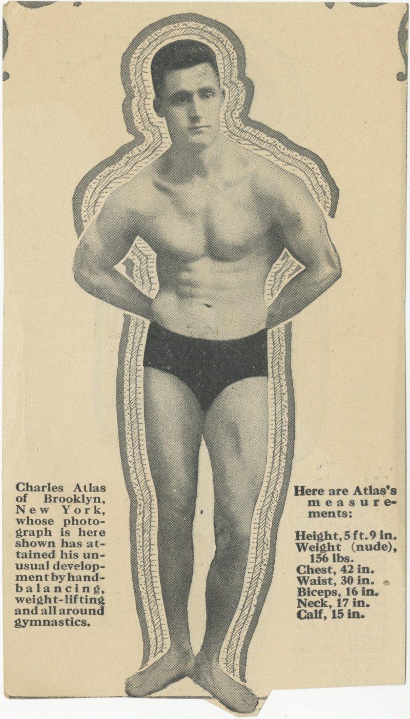 Charles Atlas of Brooklyn, New York
