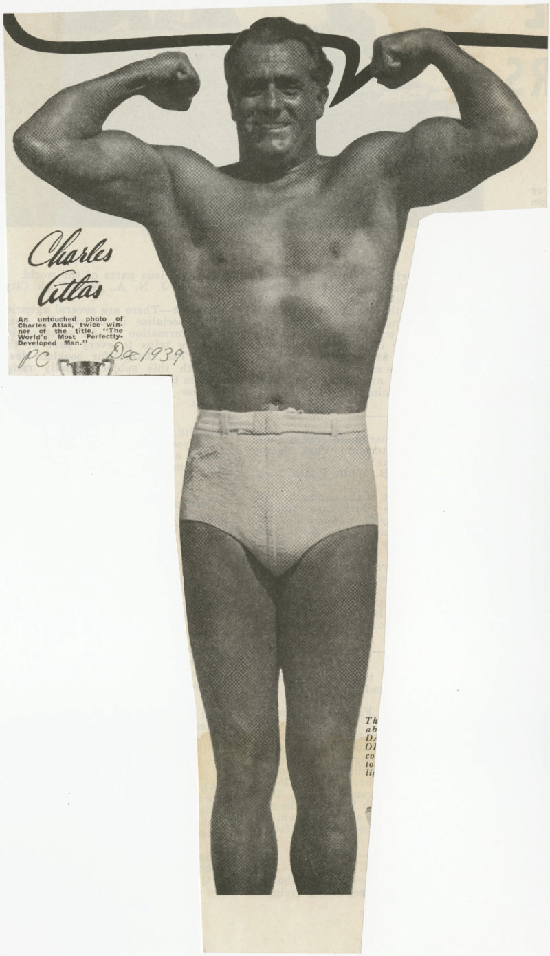 Charles Atlas an untouched photo