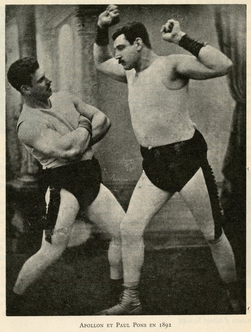 Apollon and Paul Pons in 1892