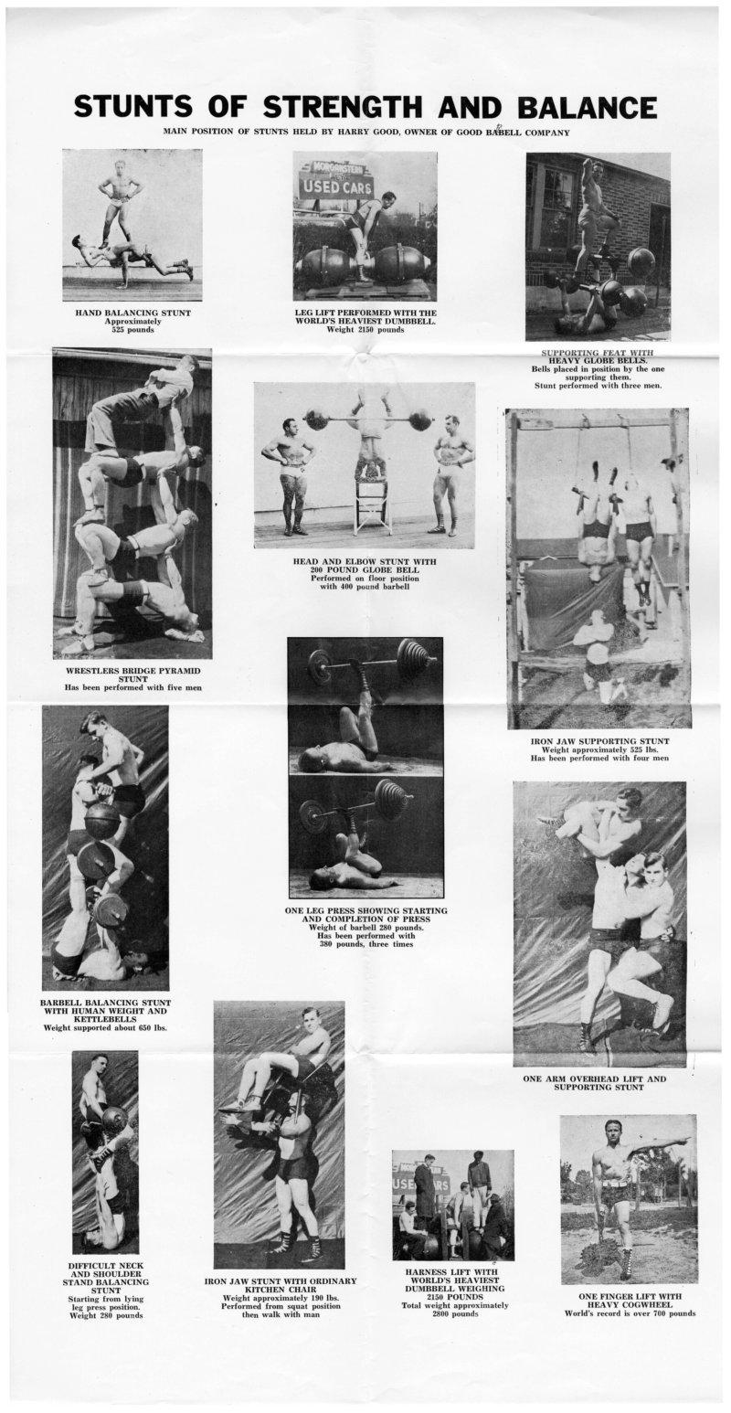 Stunts of Strength and Balance