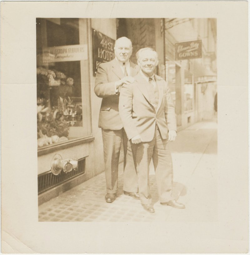 Photo of Georges Hackenschmidt and Otto Arco
