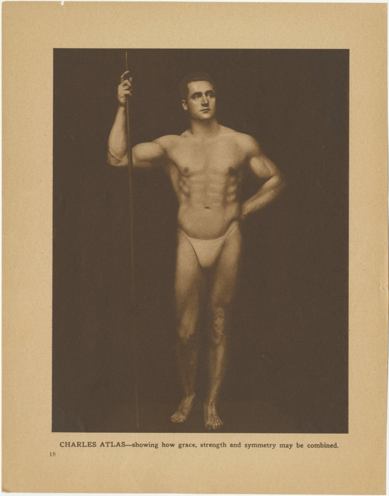 Charles Atlas Showing how grace, strength and symmetry may be combined