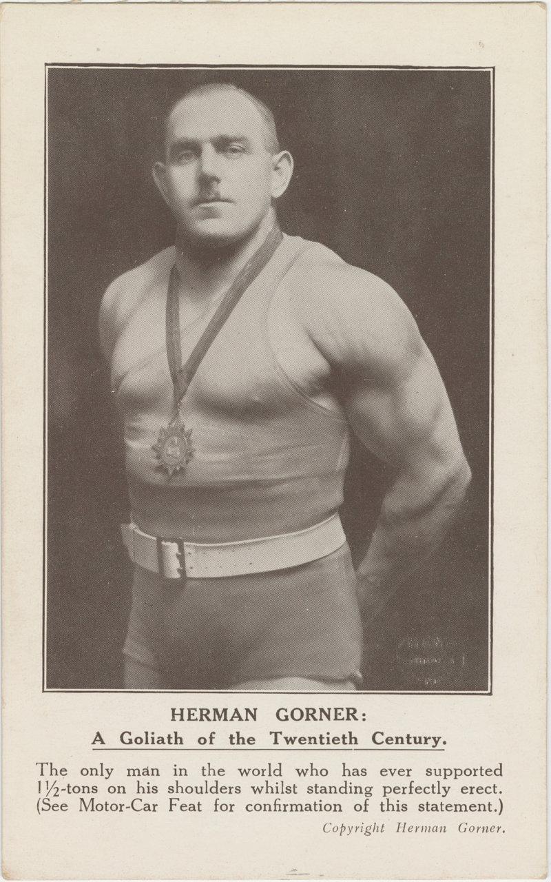 Herman Gorner: A Goliath of the Twentieth Century
