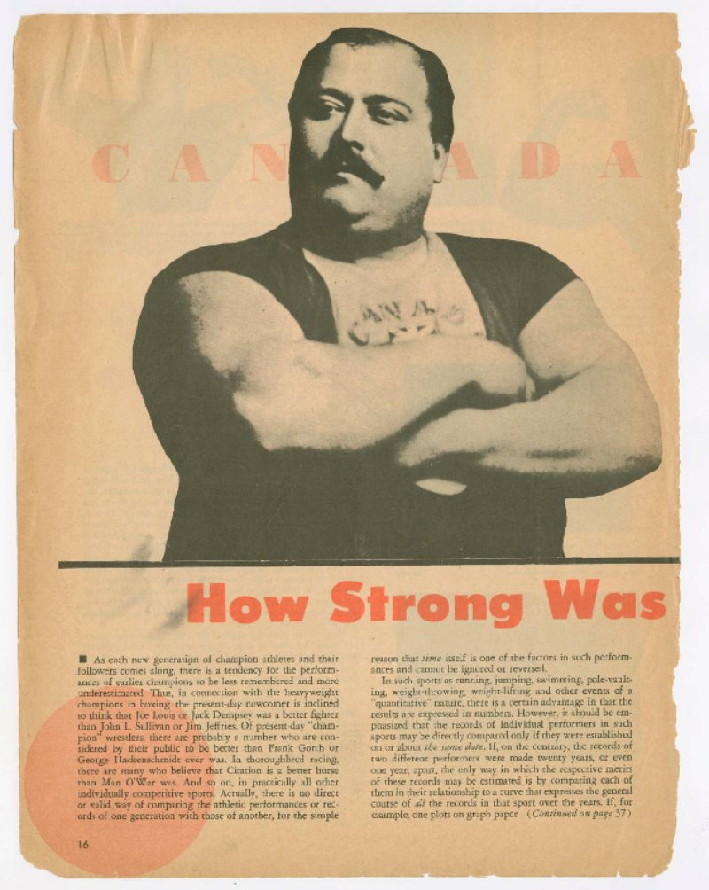 How Strong was Louis Cyr?
