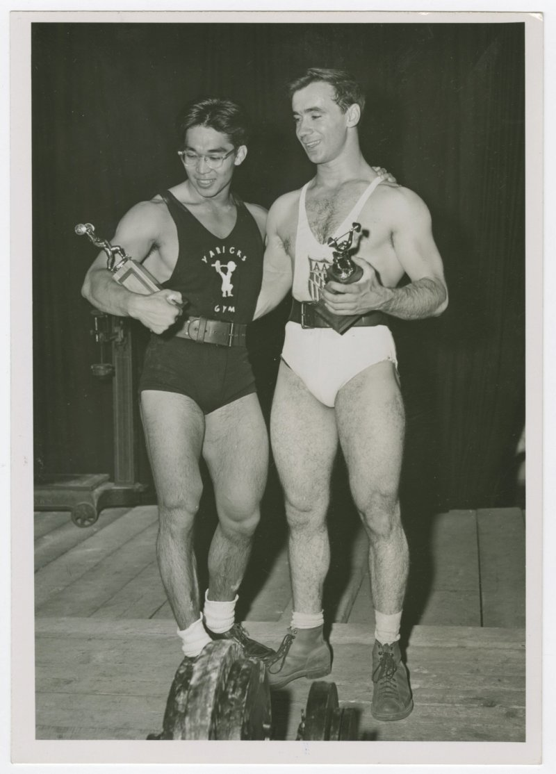 Tommy Kono and Pete George
