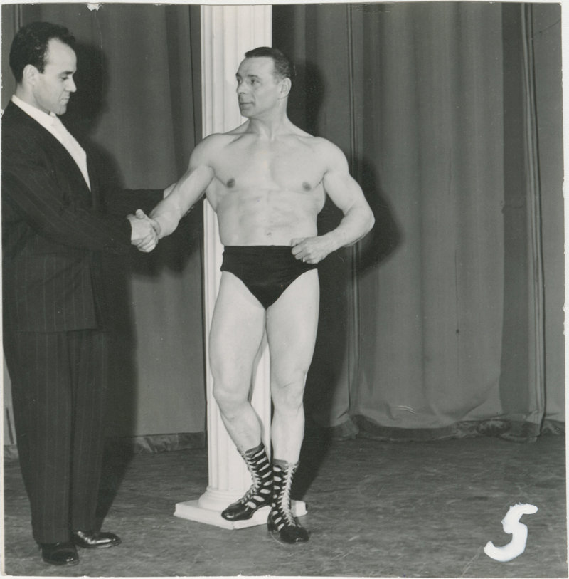 Photo of Siegmund Klein and another