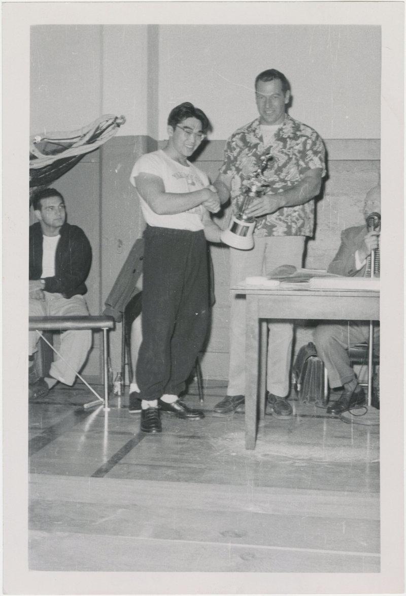 Photo of Tommy Kono and Ed Yorick