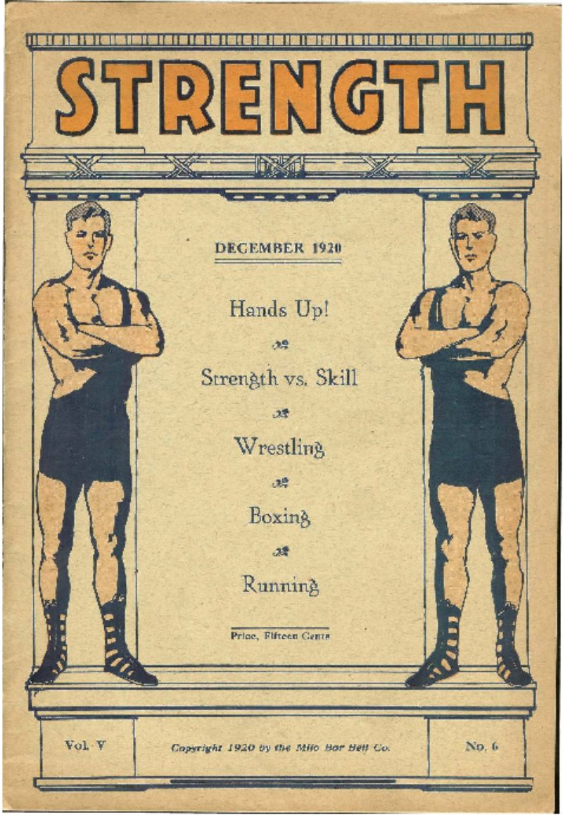 Cover; The Strength of A Strong Man; Table of Contents