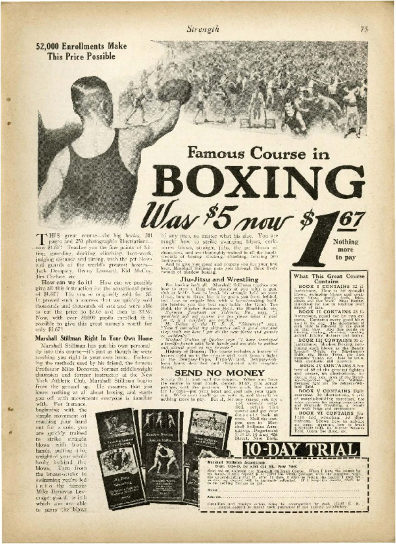 Famous Course in Boxing