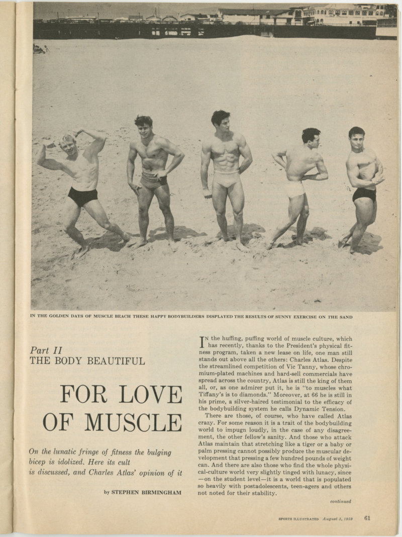 The Body Beautiful: For Love of Muscle