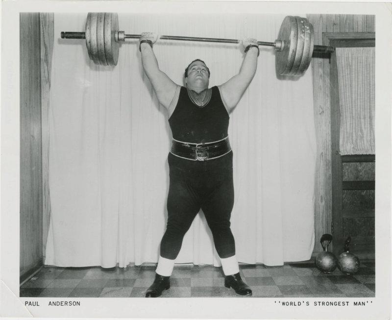 Paul Anderson World's Strongest Man