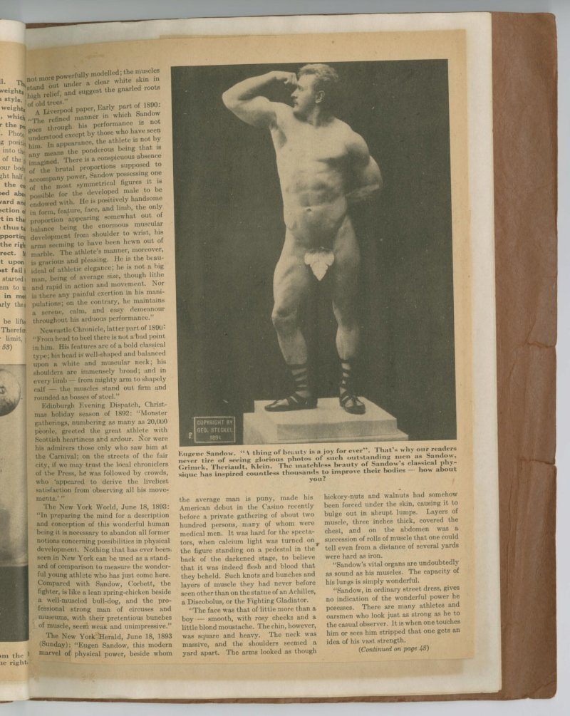 The Great Sandow, part 8 continued