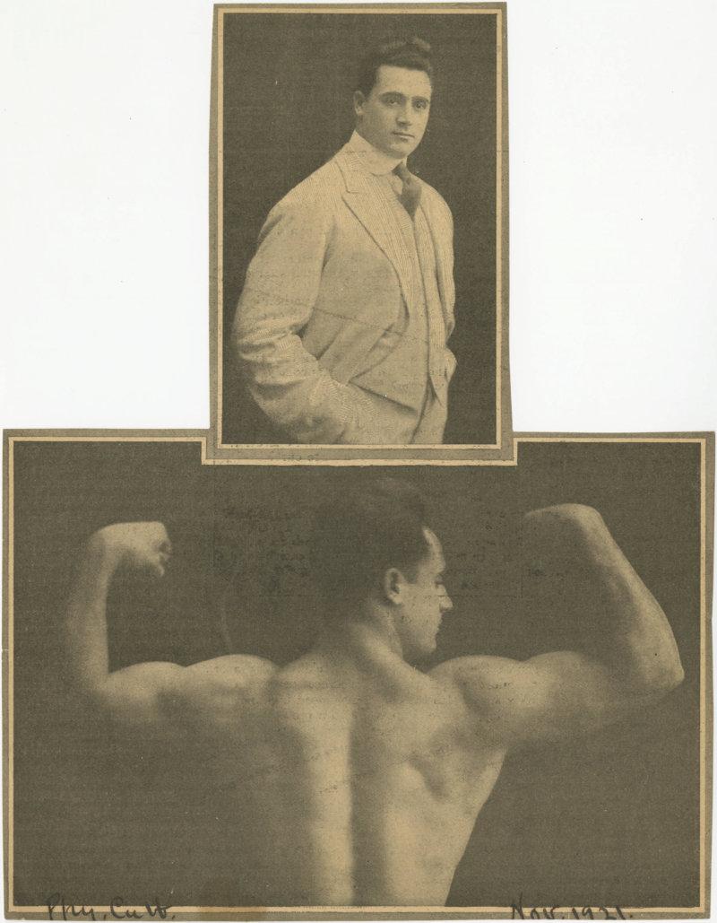Charles Atlas Posing Clipping