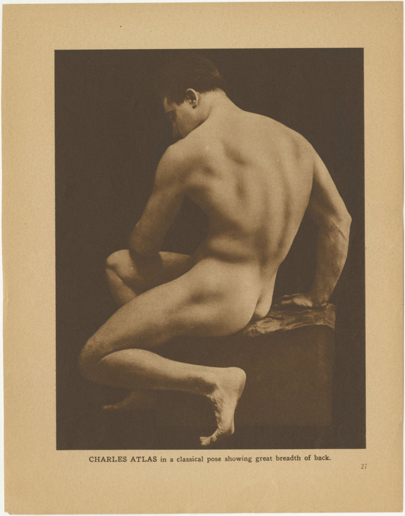 Charles Atlas in a Classic Pose