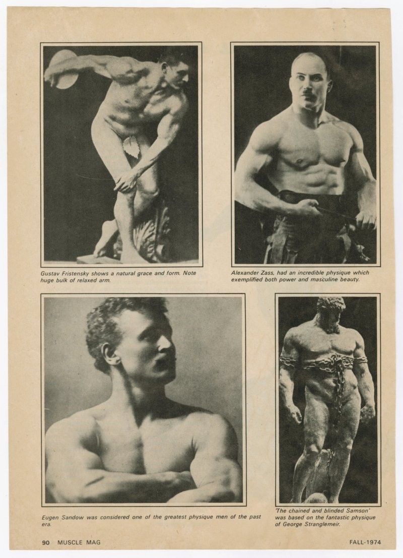 The Ideal Physique - An Everchanging Concept continued