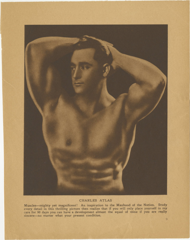 Charles Atlas Muscles--mighty yet magnificent!